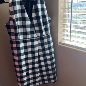 Cute plaid business dress